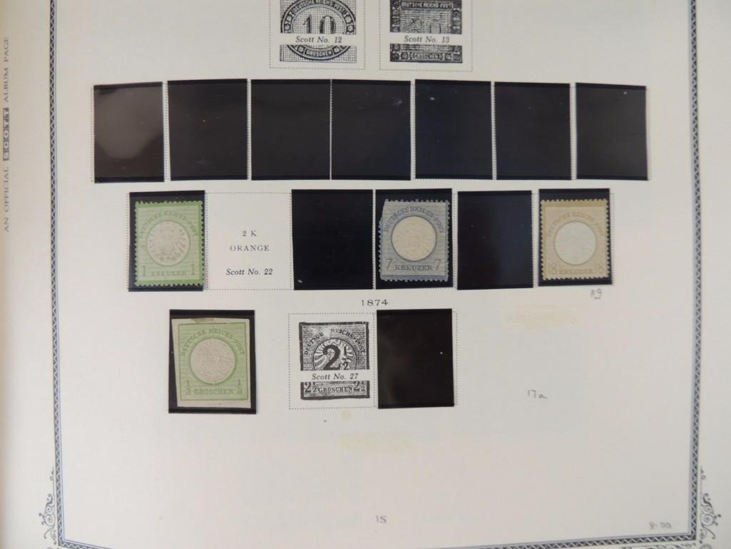 German Postage Stamp Album, Dates from 1874-1949 - 3
