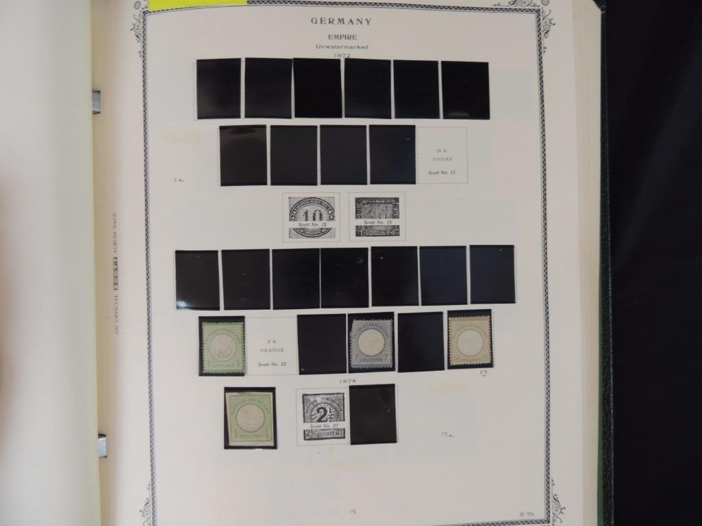 German Postage Stamp Album, Dates from 1874-1949 - 4
