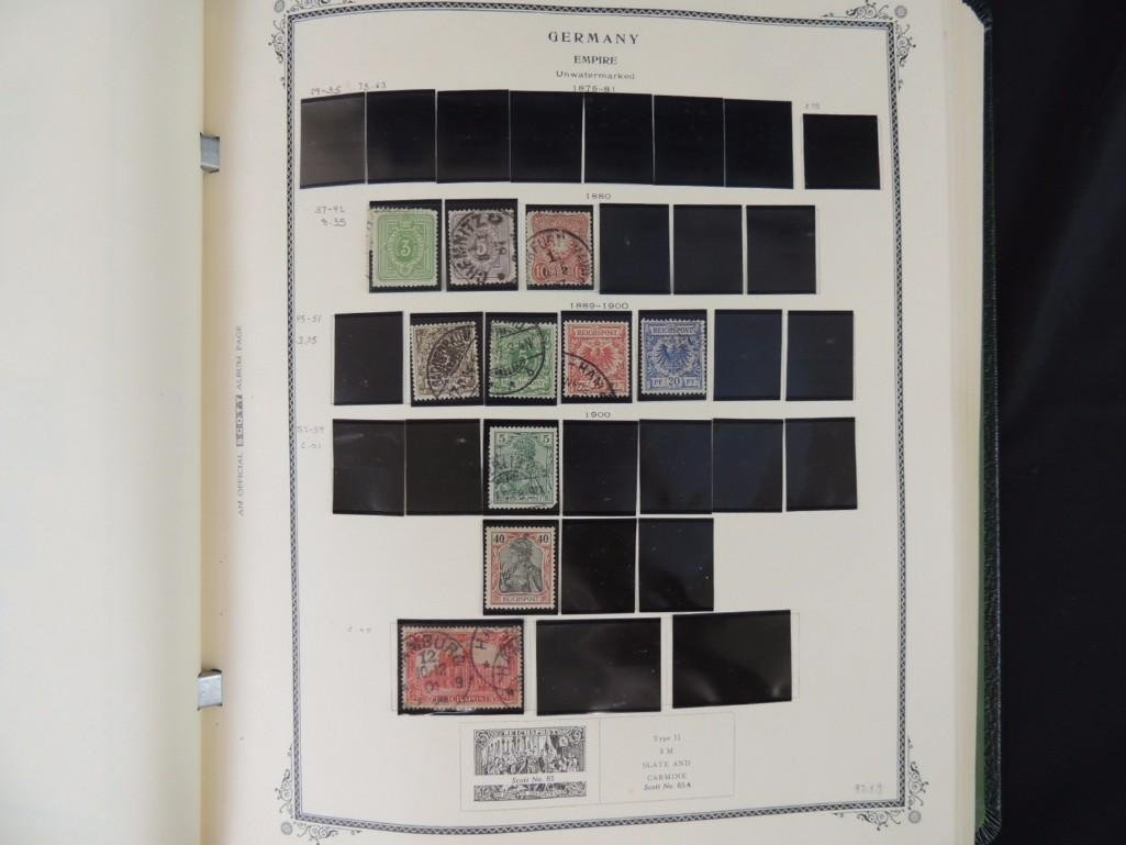 German Postage Stamp Album, Dates from 1874-1949 - 5