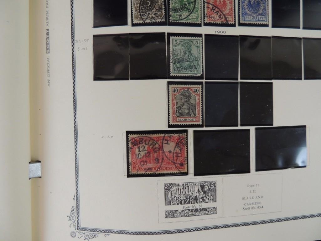 German Postage Stamp Album, Dates from 1874-1949 - 7