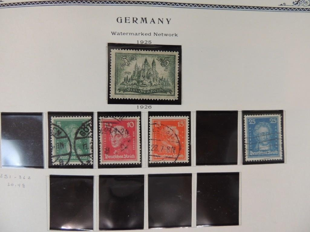 German Postage Stamp Album, Dates from 1874-1949 - 9