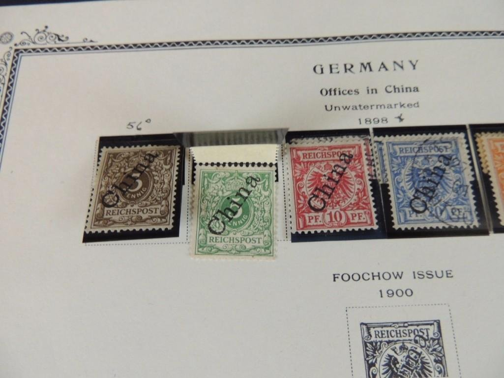 Postage Stamp Collection of German Offices in China - 6