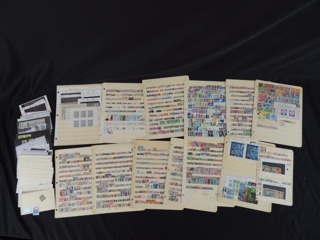 Collection of German New and Used Postage Stamp