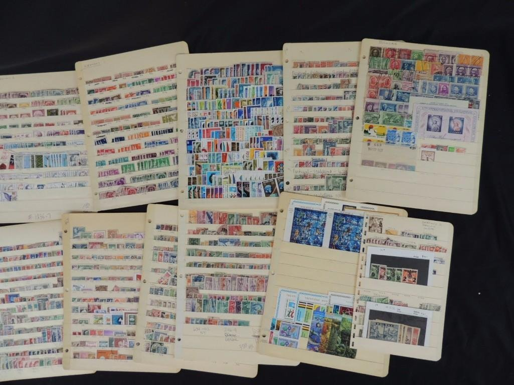 Collection of German New and Used Postage Stamp - 2