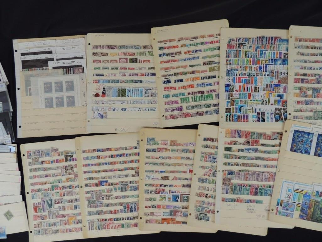 Collection of German New and Used Postage Stamp - 3