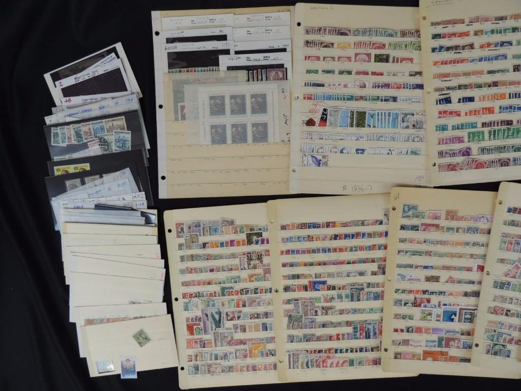 Collection of German New and Used Postage Stamp - 4