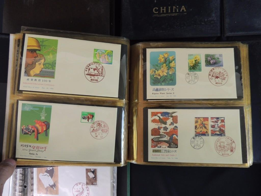 Group of 9 Japanese and Chinese First Day Issue - 4