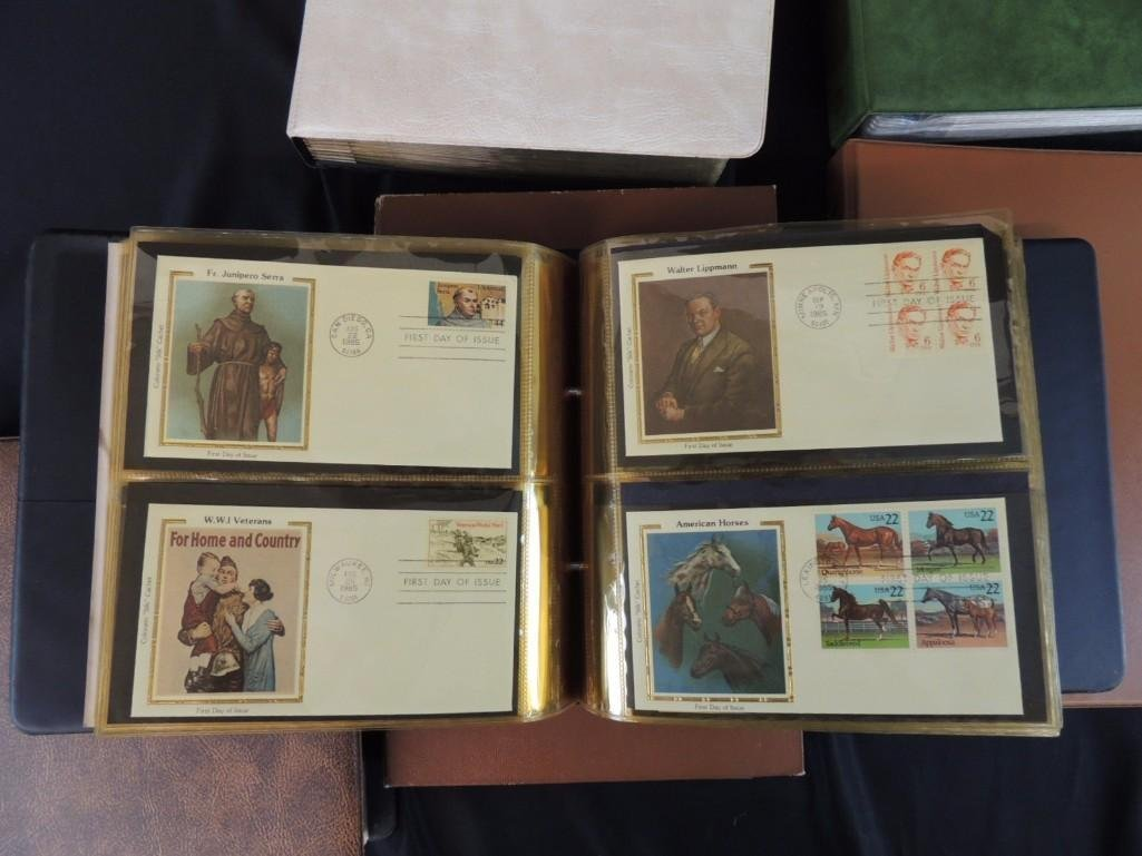 Group of 8 U.S. First Issue Envelope Albums - 10