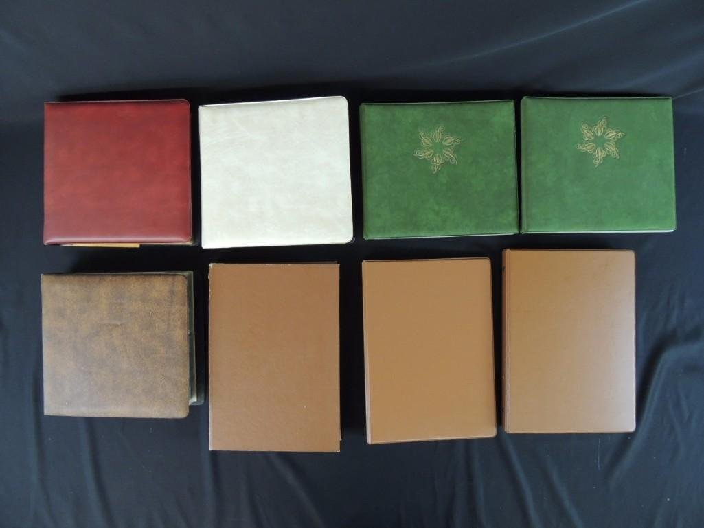 Group of 8 U.S. First Issue Envelope Albums