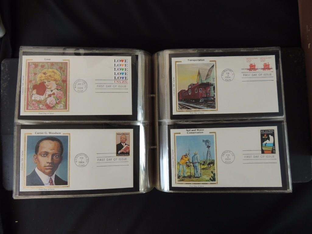 Group of 8 U.S. First Issue Envelope Albums - 3