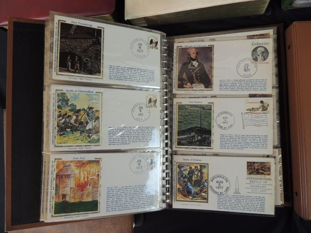 Group of 8 U.S. First Issue Envelope Albums - 4
