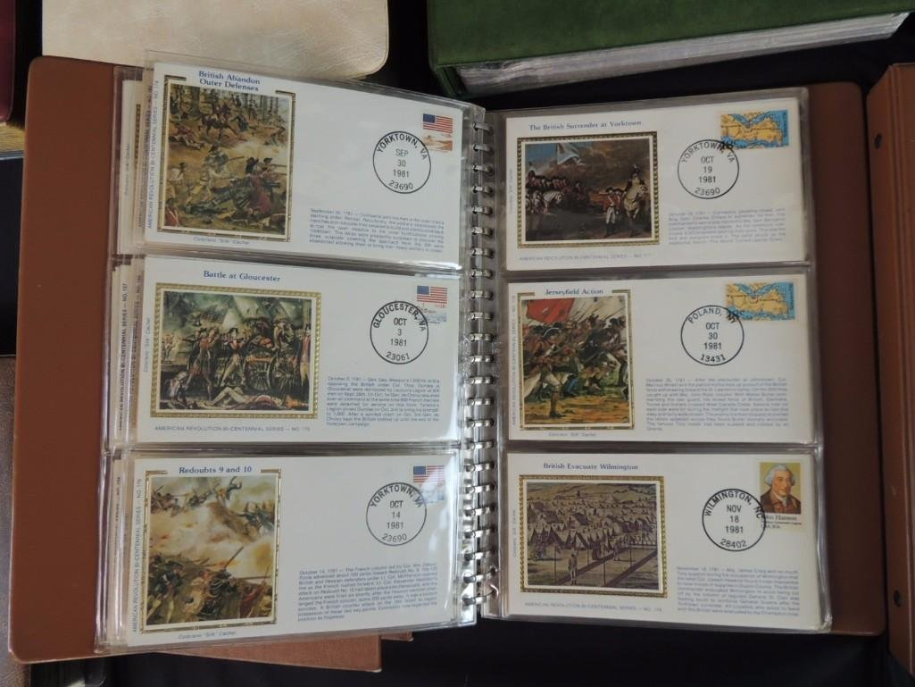Group of 8 U.S. First Issue Envelope Albums - 5