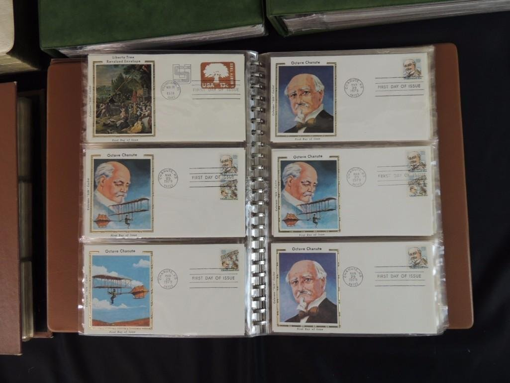 Group of 8 U.S. First Issue Envelope Albums - 6
