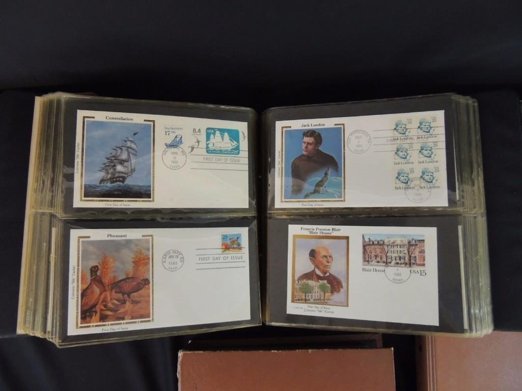 Group of 8 U.S. First Issue Envelope Albums - 9