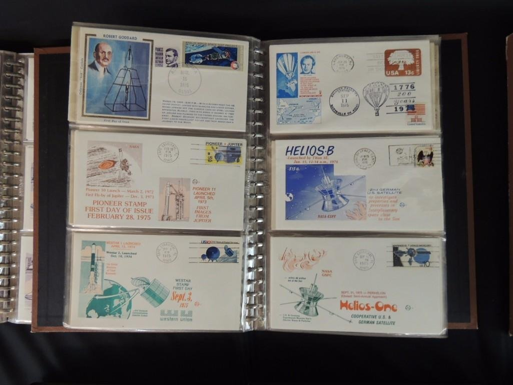Group of 6 Nasa and Space First Day Issue Albums - 4