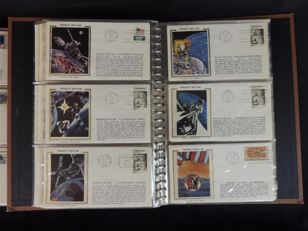 Group of 6 Nasa and Space First Day Issue Albums - 5