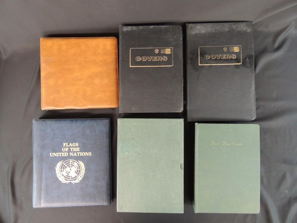 Group of 6 Miscellaneous First Day Cover Albums
