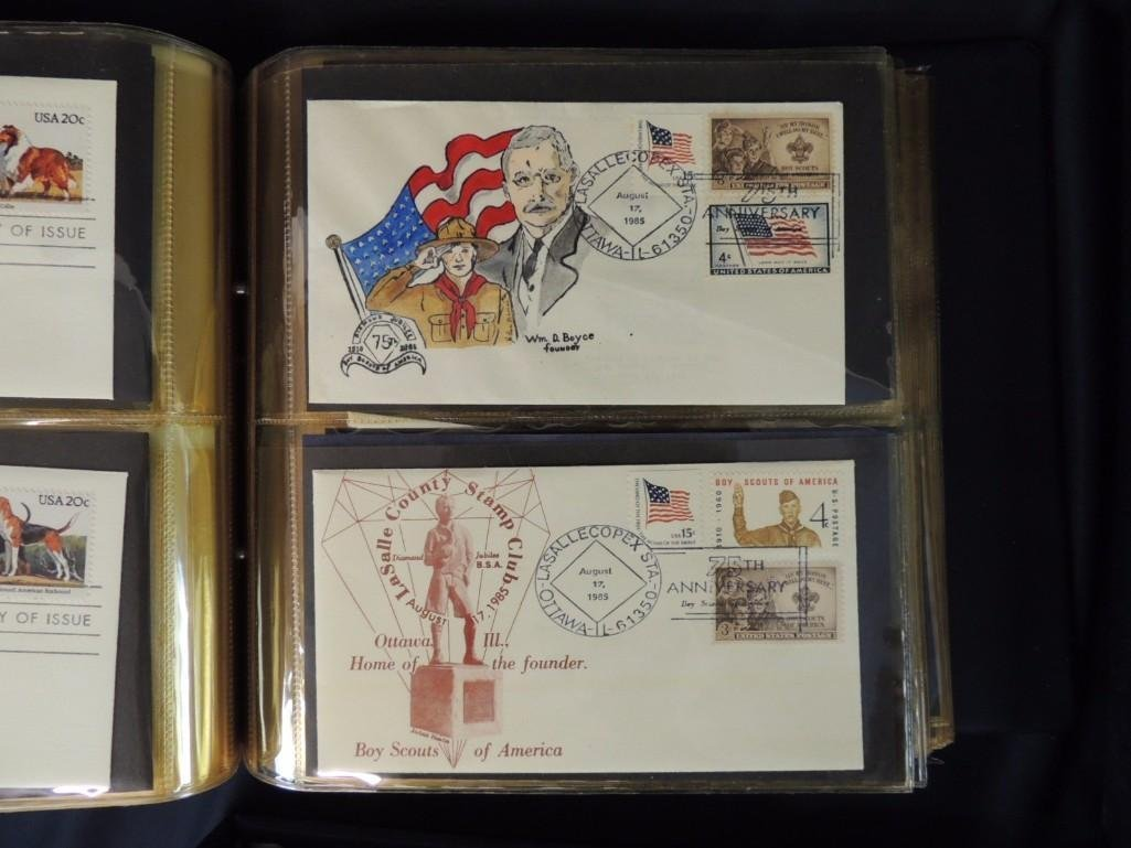 Group of 6 Miscellaneous First Day Cover Albums - 2