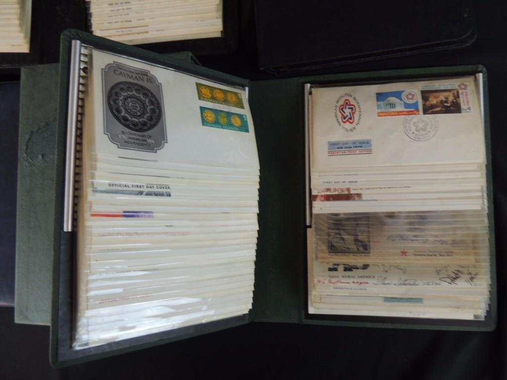 Group of 6 Miscellaneous First Day Cover Albums - 5