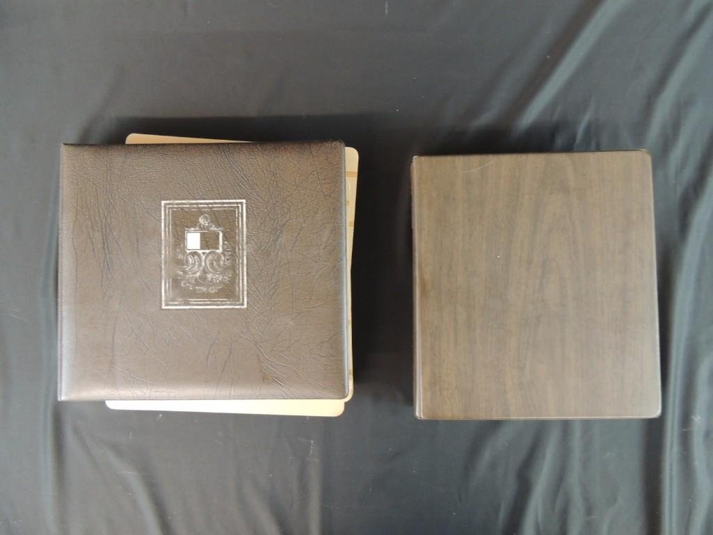 Group of 2 Miscellaneous First Day Cover Albums