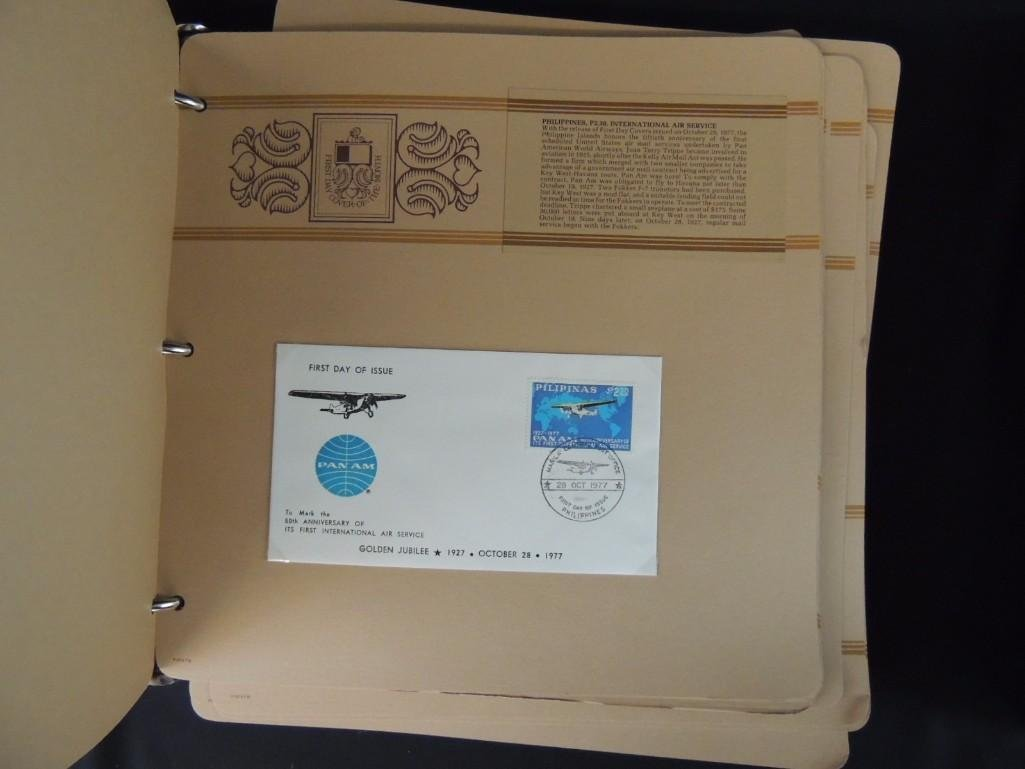 Group of 2 Miscellaneous First Day Cover Albums - 4