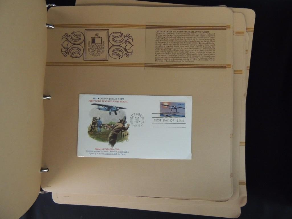 Group of 2 Miscellaneous First Day Cover Albums - 5