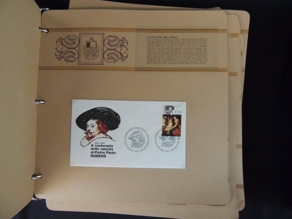 Group of 2 Miscellaneous First Day Cover Albums - 6