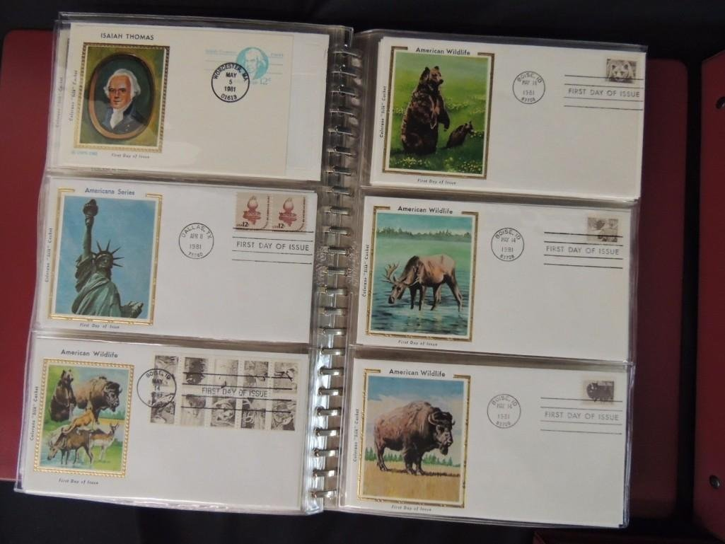 Group of 5 First Day Issue and First Day Cover Albums - 2