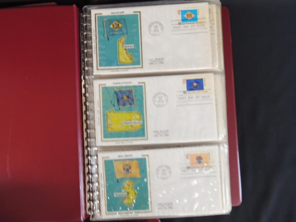 Group of 5 First Day Issue and First Day Cover Albums - 5