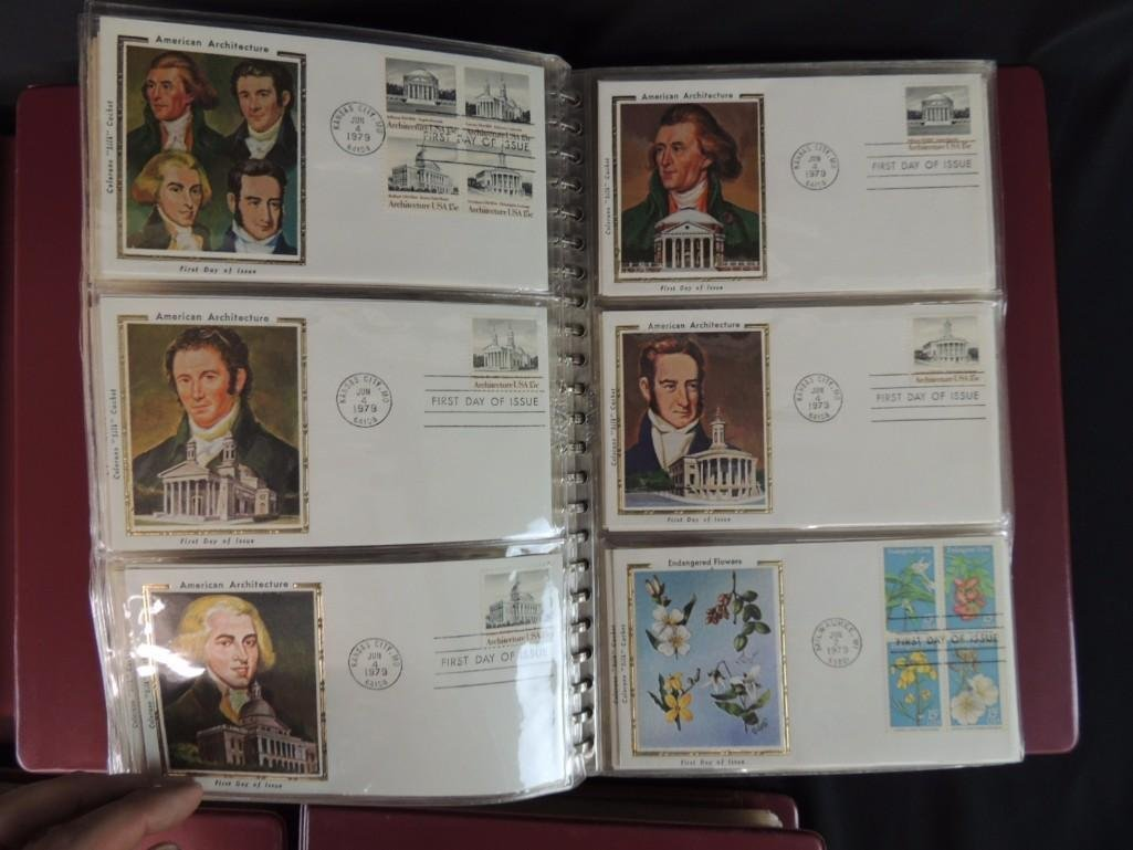 Group of 5 First Day Issue and First Day Cover Albums - 6