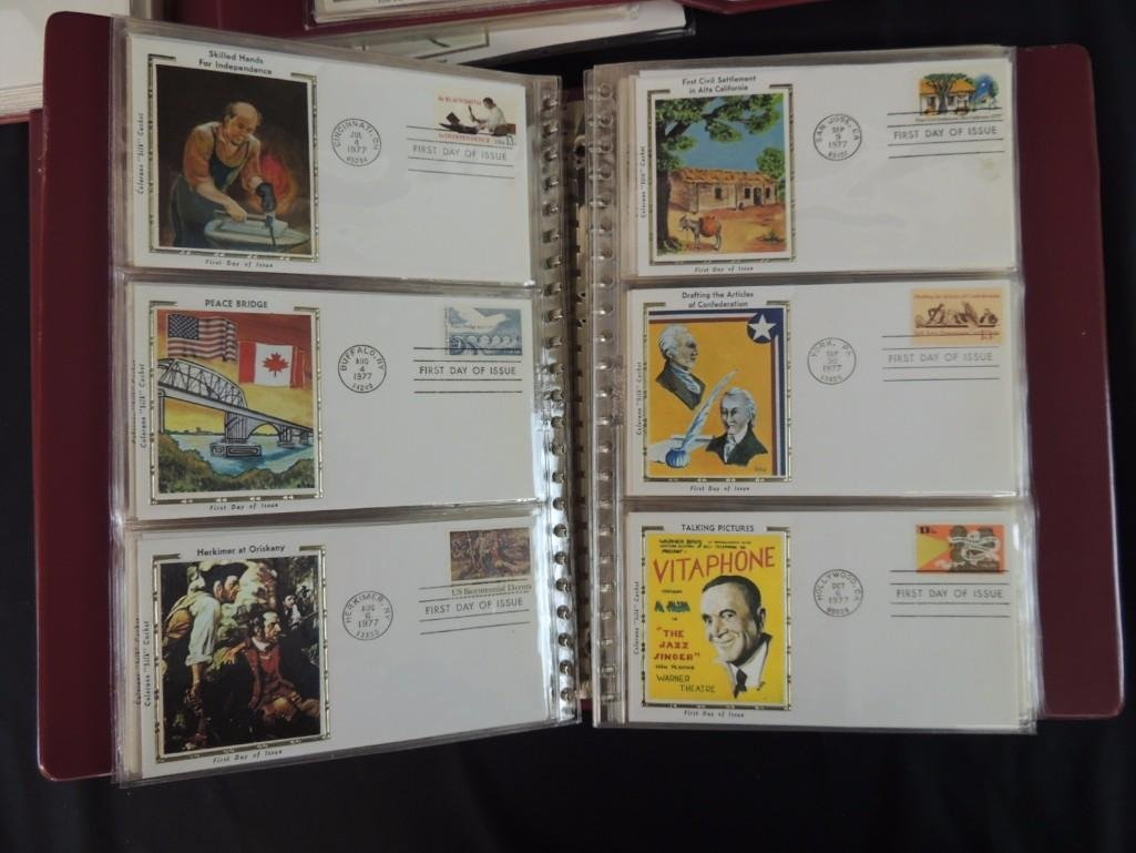 Group of 5 First Day Issue and First Day Cover Albums - 7
