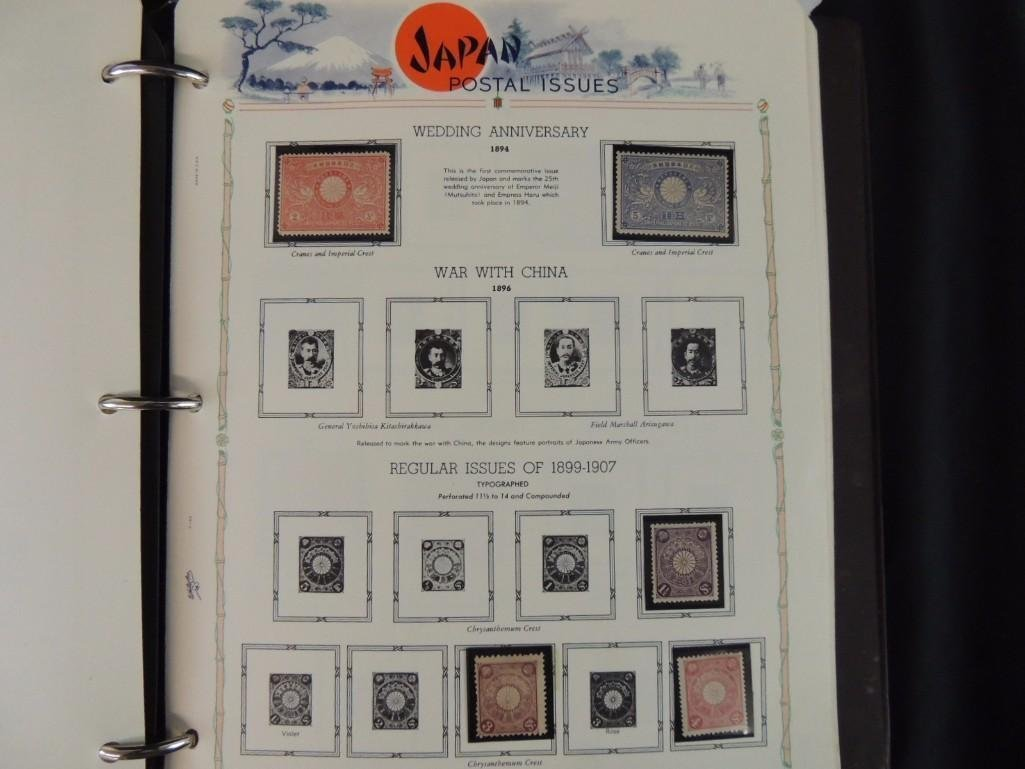 Group of 3 Japanese Postage Stamp Albums Dates From - 5