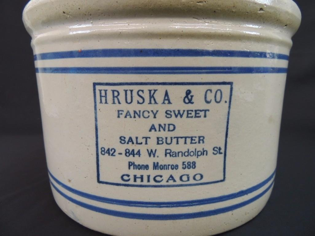 Hruska & Co. Fancy Sweet and Salt Butter Chicago