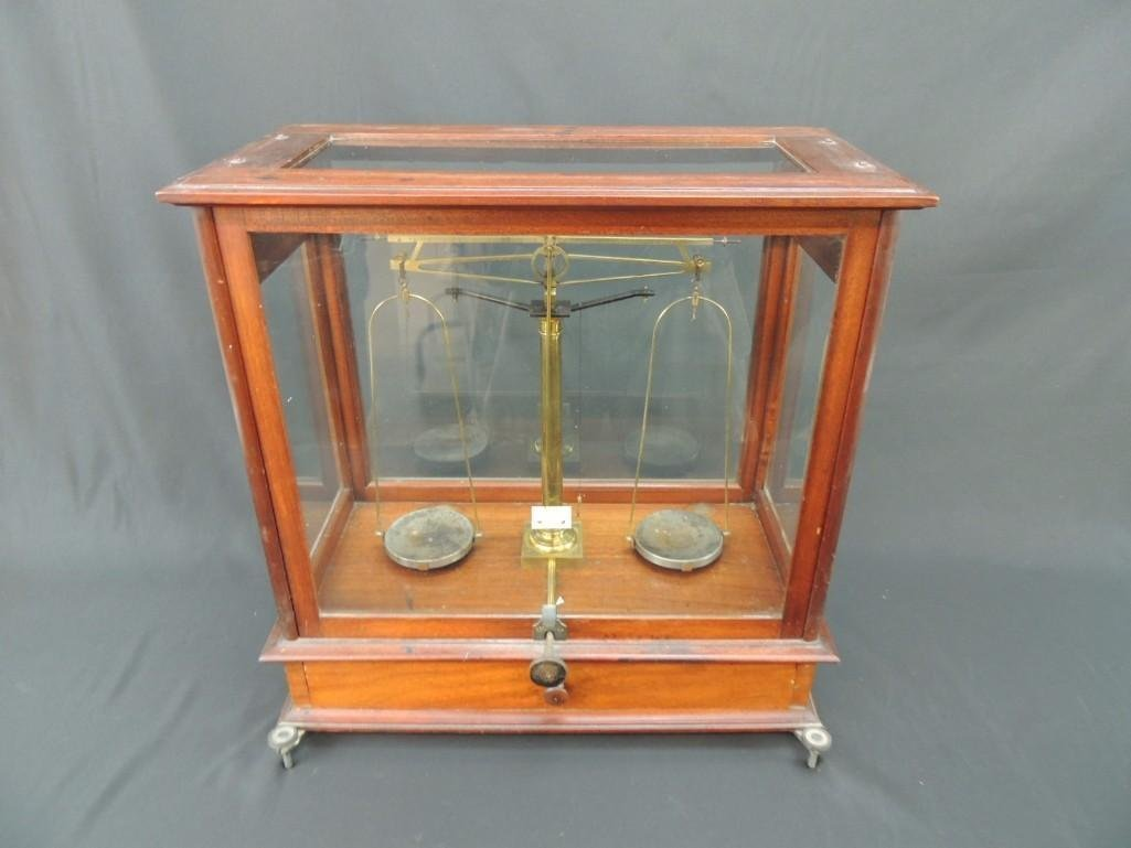 Antique Pharmacist Scale