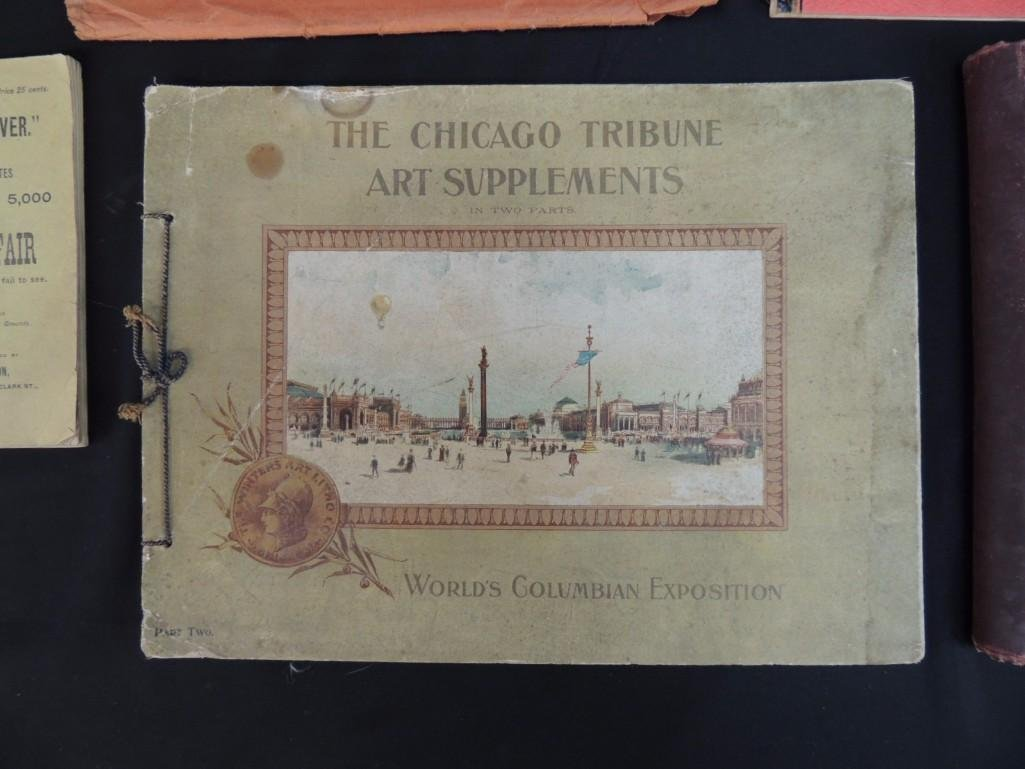 Group of 4 1893 and 1933 Chicago Worlds Fair Souvenir - 5