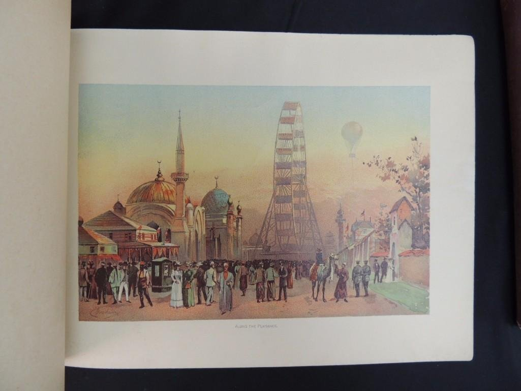 Group of 4 1893 and 1933 Chicago Worlds Fair Souvenir - 7
