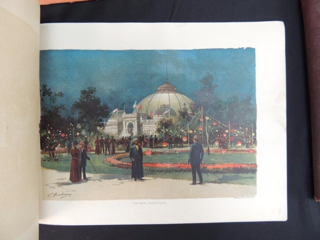 Group of 4 1893 and 1933 Chicago Worlds Fair Souvenir - 8