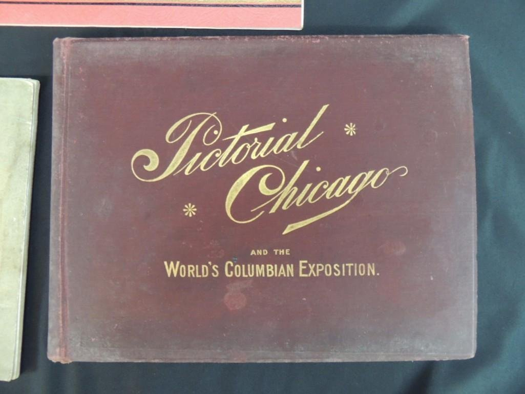 Group of 4 1893 and 1933 Chicago Worlds Fair Souvenir - 9