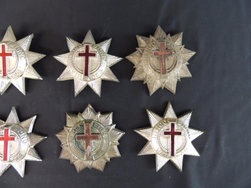 Group of 8 Masonic Cross Medals - 2