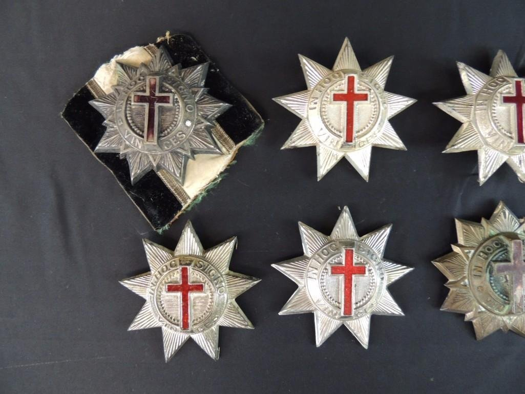 Group of 8 Masonic Cross Medals - 3