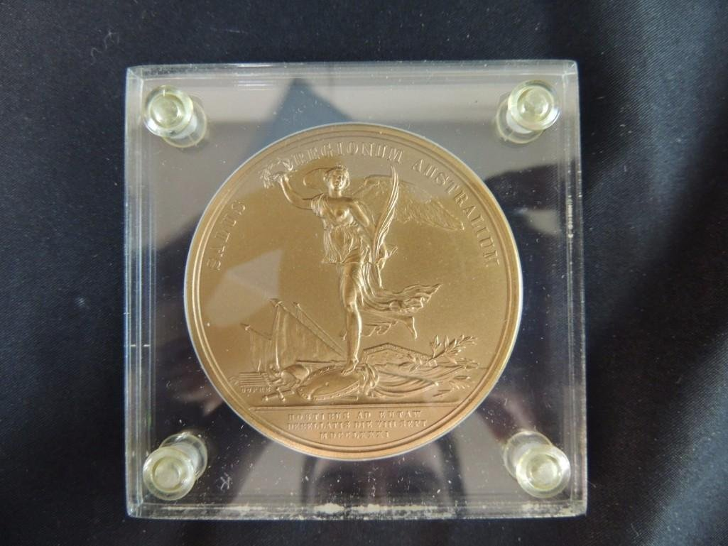 Comitia Americana Nathanieli Green Egregio Solid Bronze - 2
