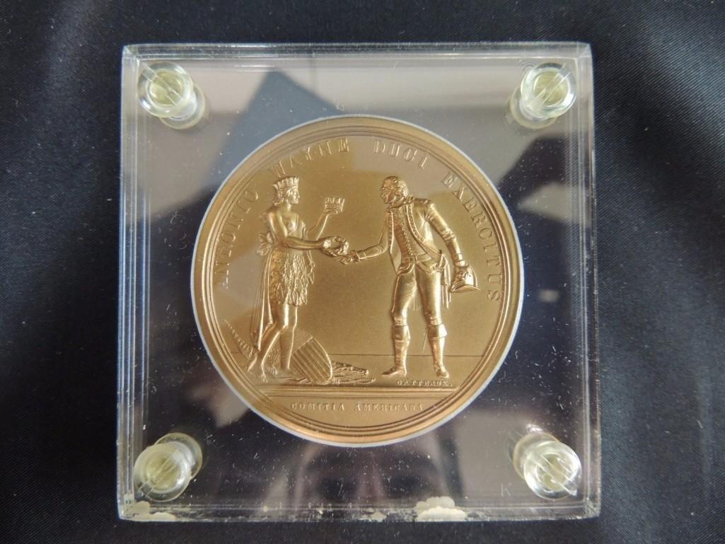 Comitia Americana Antonio Wayne Solid Bronze Table