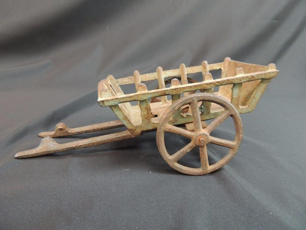Cast Iron Toy Wagon
