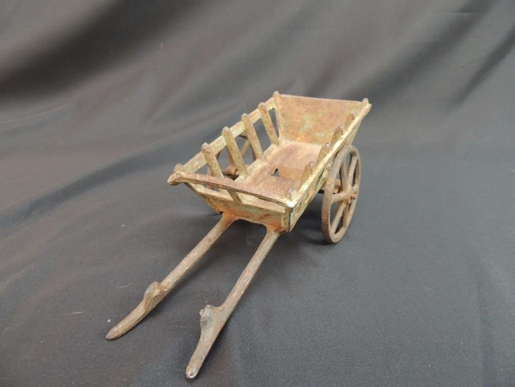 Cast Iron Toy Wagon - 2