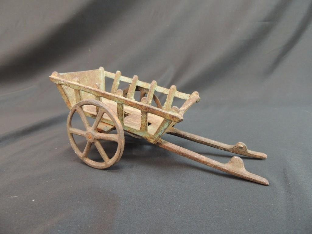 Cast Iron Toy Wagon - 3