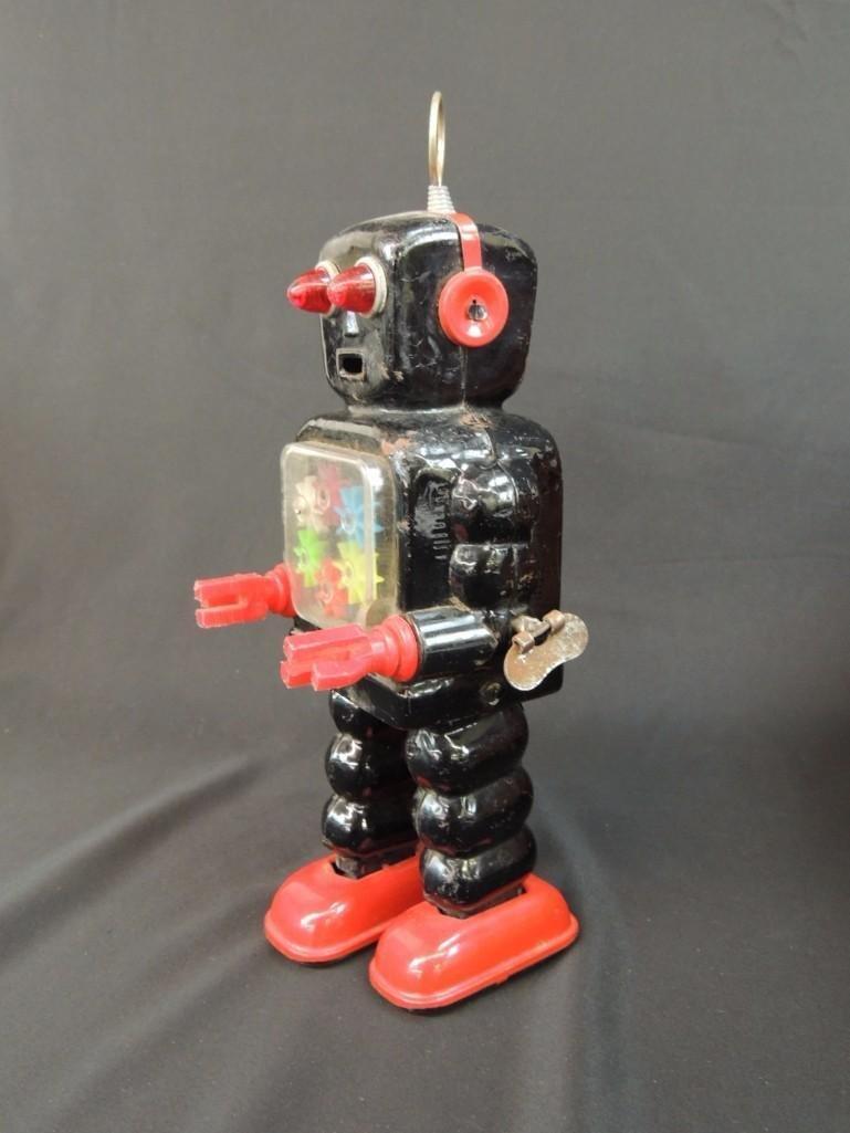 Vintage Metal Robot Toy Made in Japan - 2