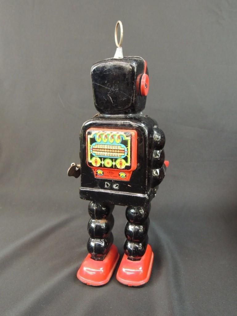 Vintage Metal Robot Toy Made in Japan - 3