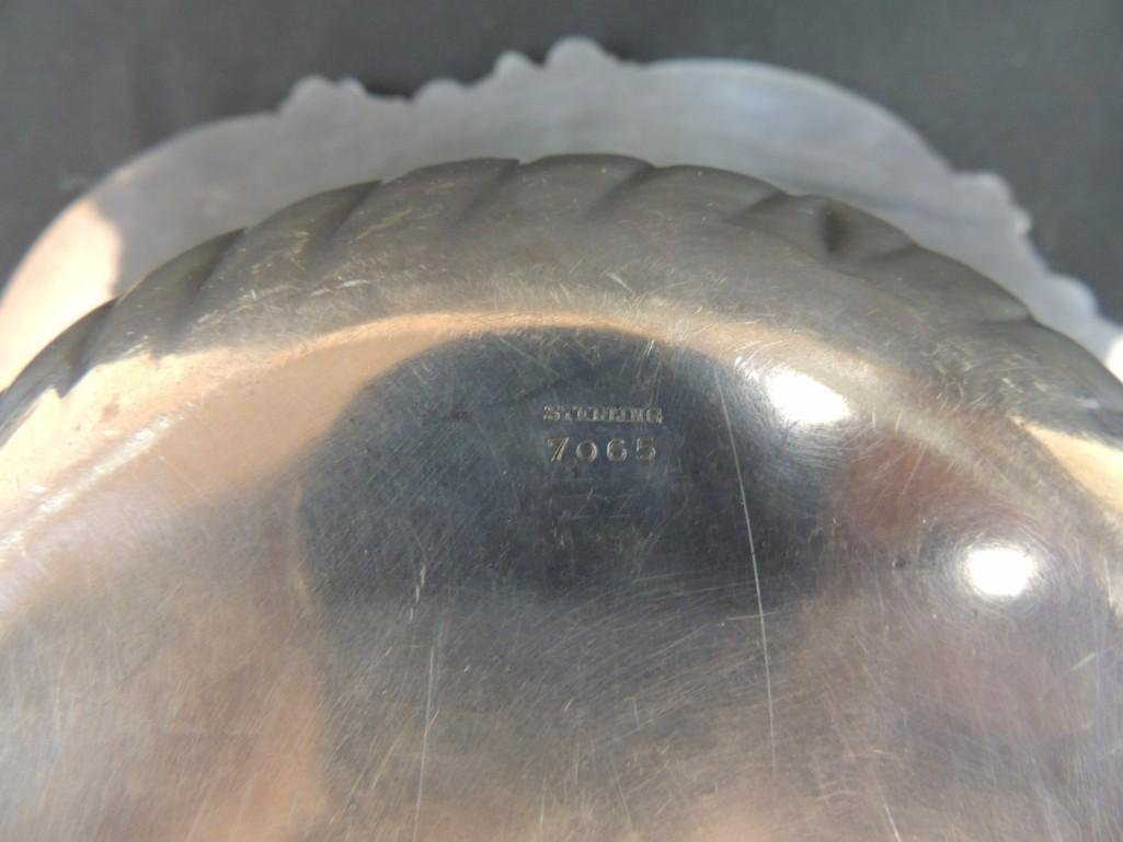 Sterling Silver Bowl with Inscribed S, Dated 1903, 275 - 3
