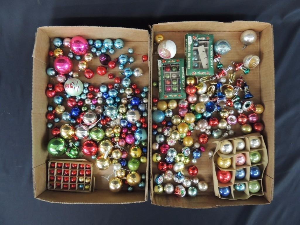 Group of Vintage Miniature Christmas Ornaments