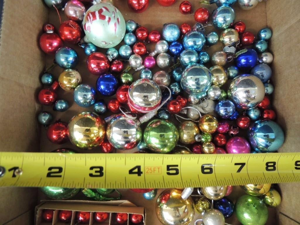 Group of Vintage Miniature Christmas Ornaments - 2